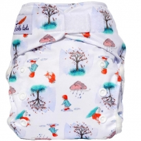 Tickle Tots AIO Nappy - Perfect Puddles