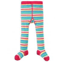 Frugi Fine Stripe Little Norah Tights