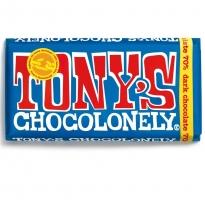 Tony's Chocolonely Fairtrade Extra Dark Chocolate 180g