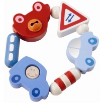 Haba Toot-Toot Teething & Clutch Toy