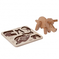 Bajo Triceratops Puzzle and Sorter