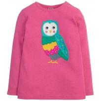 Frugi Owl Maisy Applique Top