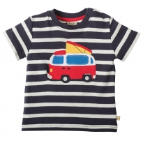 Frugi Van Little Fal Applique T-shirt