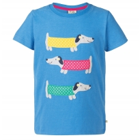 Frugi Dog Gwenver Applique T-Shirt