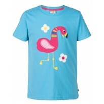 Frugi Flamingo Gwenver Applique T-Shirt
