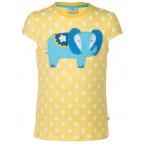 Frugi Elephant Poldhu Applique Top