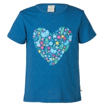 Frugi Heart Print Praa T-shirt