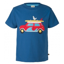 Frugi Surf Car Stanley Applique T-Shirt