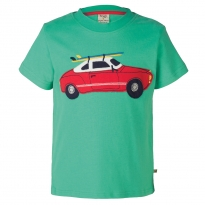 Frugi Car Stanley Applique T-Shirt