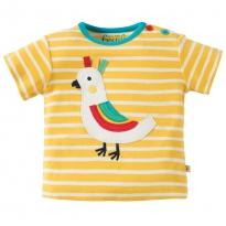 Frugi Bird Atlantic Applique T-shirt