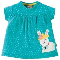 Frugi Bunny Eva Applique Top