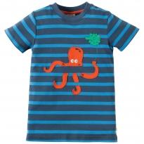 Frugi Octopus Ollie Applique Top