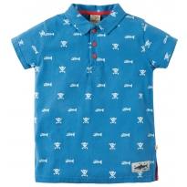 Frugi Skull & Bones Penwith Polo Shirt