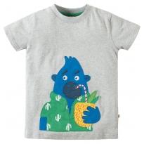 Frugi Gorilla Stanley Applique T-Shirt
