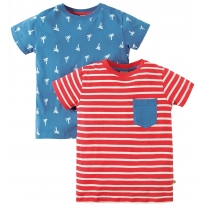 Frugi Palm Tresco T-Shirts x2