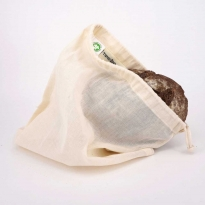 Turtle Bags Organic Cotton Bread Bag - Small