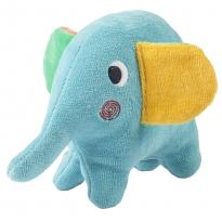 Frugi Froogli Elephant Soft Rattle