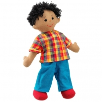 Lanka Kade Dad Doll - Brown Skin, Black Hair