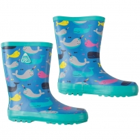 Frugi Narwhal Natter Wellies