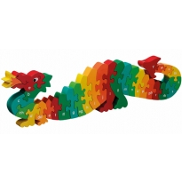 Lanka Kade Welsh Alphabet Dragon Jigsaw