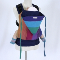 Wompat Toddler Carrier - Vanamo Rainbow Purple
