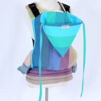 Wompat Pre-School Carrier - Vanamo Rainbow Blue