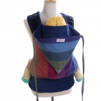 Wompat Toddler Carrier - Girasol Northern Lights Rainbow Diamond
