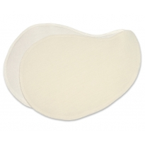 Silk & Wool Pear-shaped Breast pads