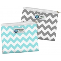 Planet Wise 2 Pack Zip Sandwich Bags