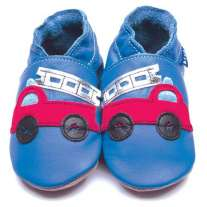 Inch Blue Firetruck Shoes