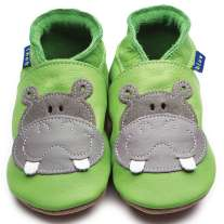 Inch Blue Hippo Green Shoes