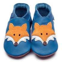 Inch Blue Mr Fox Blue Shoes