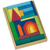 Glückskäfer 29-Piece Church Blocks