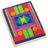Glückskäfer 53-Piece Big Provence Blocks