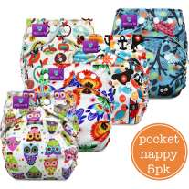 Milovia Pocket Nappy x5