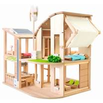 Plan Toys Green Dolls' House/Furniture
