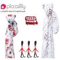 Piccalilly London Print Muslin Swaddles