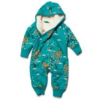 LGR Midnight Peacocks Sherpa Snowsuit