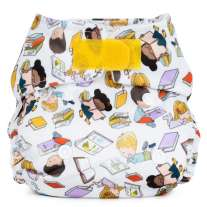 Baba + Boo Newborn Nappy - Bookworm