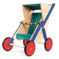 Bajo Blue Doll's Buggy