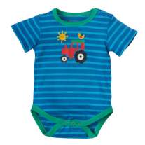 Frugi Blue Tractor Lowen Body