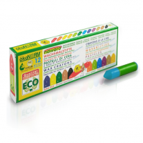 OkoNorm 12 Stubby Beeswax Crayons