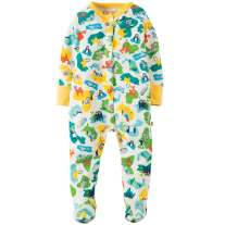 Frugi Animal Map Lovely Babygrow