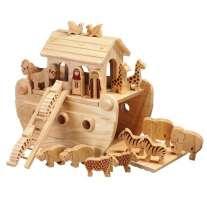 Lanka Kade Junior Noah's Ark & 18 Natural Characters