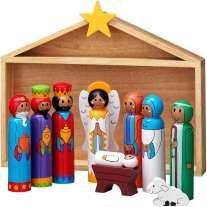 Lanka Kade Nativity Stable And 9 Characters