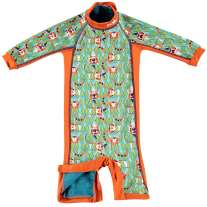 Pop-In Toddler Snug Swim Suit Tiger