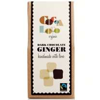 Cocoa Loco Dark Chocolate Ginger 100g