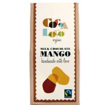 Cocoa Loco Milk Chocolate Mango 110g