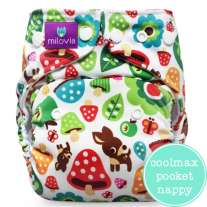 Milovia Coolmax Pocket Nappies