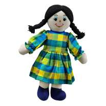 Lanka Kade Mum Doll - White Skin, Black Hair